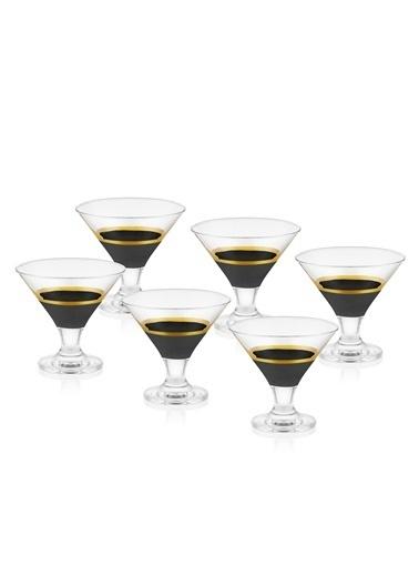 The Mia Glow Dondurmalık 6 Lı Set- Siyah & Gold Siyah